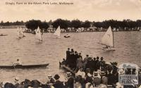 Dinghy Race on the Albert Part Lake