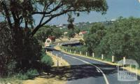 The Great Ocean Road and Bridge crossing the Anglesea River at Anglesea
