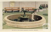 A copy of the famous Mannequin Fountain, Brussels, Arthurs Seat