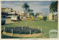 Gardens and Main Street, Bairnsdale