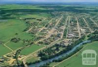 Aerial view of Bairnsdale