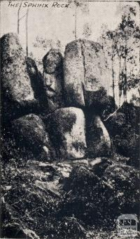 The Sphinx Rock, Beechworth