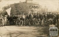 Benalla Road Race 18 May 1909