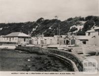 Boatsheds at Half Moon Bay, Black Rock