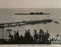 Cerebus (Cerberus) and Pier, Half Moon Bay, Black Rock