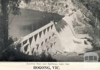 Junction Dam and spillway, Lake Guy,  Bogong