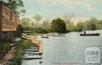 Twickenham Ferry, River Yarra, Burnley