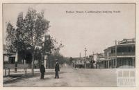 Barker Street, Castlemaine (looking south), 1915