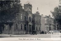 Town Hall and School of Mines, Castlemaine