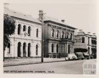 Post Office and Municipal Chambers, Colac