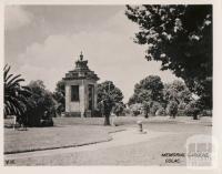 Memorial Gardens, Colac