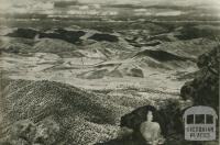 View from Mount Buffalo, 1954