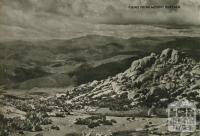 Views from Mount Buffalo, 1954