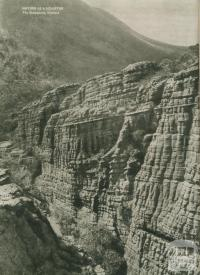 Nature as sculptor, The Grampians, 1954