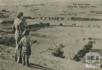 Looking east, Camperdown, 1954