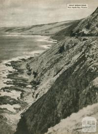 Great Ocean Road, near Apollo Bay, 1954