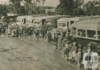 Consolidated school buses, Timboon, 1954