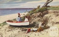 Carrum Beach, 1954