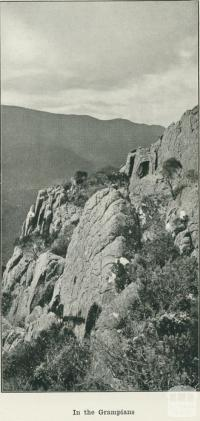 In the Grampians, 1918