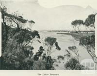 The Lakes Entrance, 1918