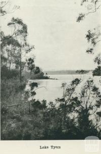 Lake Tyers, 1918