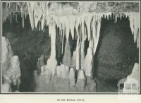 In the Buchan Caves, 1918