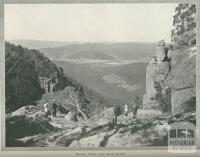 Eurobin Valley from Mount Buffalo, 1918