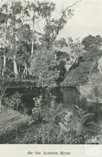 On the Acheron River, 1918