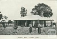 A settler's house, Rochester district, 1918