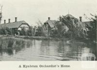 A Kyabram orchardist's home, 1918