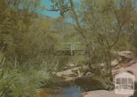 Bridge at the entrance to Wonderland, Grampians