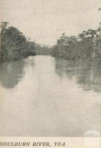 Goulburn River, Yea, 1950