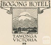 Bogong Hotel, Tawonga, 1950