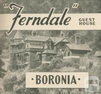 Ferndale Guest House, Boronia, 1947-48