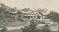 The Gables Guest House, Healesville, 1947-48