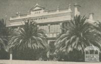 Spence's Cobram Hotel, 1947-48