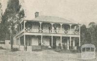 Dorset House, Hurstbridge, 1918-20