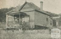 Corhanwarrabul Boarding House, Upper Fern Tree Gully, 1918-20