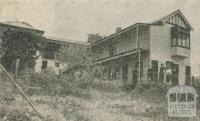 Belle Vue House, Sassafras, 1918-20