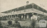 Mountjoy Boarding House, Mount Dandenong, 1918-20