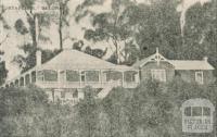 Staplers Boarding House, Belgrave, 1918-20