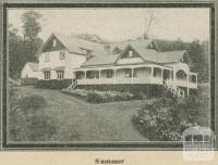 Kooringa Boarding House (Summer), Marysville, 1918-20