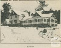 Kooringa Boarding House (Winter), Marysville, 1918-20