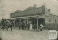 Railway Hotel, Yea, 1918-20