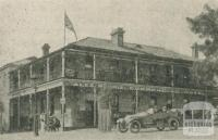 Commercial Hotel, Alexandra, 1918-20