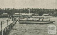 The Federal Boarding House - Fleet of Motor Boats, Lakes Entrance, 1918-20