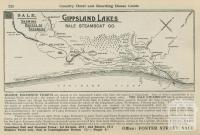 Showing Routes of Steamers, Sale, 1918-20