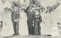 Double Wedding at Dingee, 1905