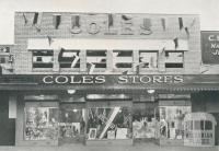 Coles, Barker Street, Castlemaine, 1946