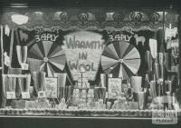 Coles, window dressing competition, Brunswick, 1934